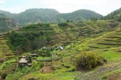Krajobraz na wyspie Santo Antao, przylądek Verde Zdjęcie Stock