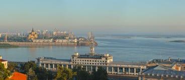 Krajobraz Nizhniy Novgorod Obraz Royalty Free