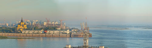 Krajobraz Nizhniy Novgorod Zdjęcia Royalty Free