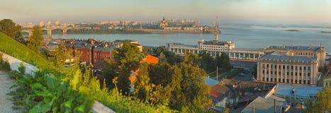 Krajobraz Nizhniy Novgorod Zdjęcie Stock