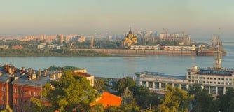 Krajobraz Nizhniy Novgorod Obrazy Stock