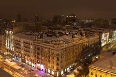 Krajobraz noc Kyiv Zdjęcie Stock
