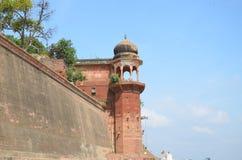 Krajobraz ochraniał Ganges rzekę w India Obrazy Royalty Free