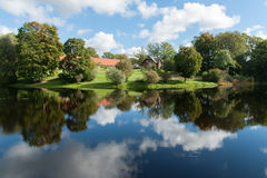 Krajobraz od Birinu jeziora Obraz Stock