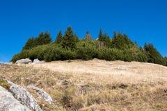 Krajobraz od Bucegi gór Zdjęcia Royalty Free