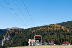 Krajobraz od Bucegi gór Zdjęcia Stock