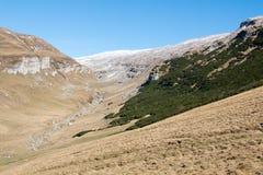 Krajobraz od Bucegi gór Obrazy Stock