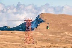 Krajobraz od Bucegi gór Fotografia Stock