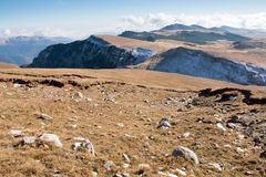 Krajobraz od Bucegi gór Obraz Stock