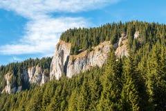 Krajobraz od Bucegi gór Zdjęcie Stock