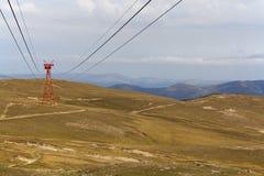 Krajobraz od Bucegi gór, Rumunia Fotografia Royalty Free