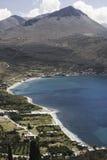 Krajobraz od Grecja Obrazy Royalty Free
