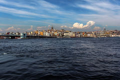 Krajobraz od Istanbuł Zdjęcie Stock