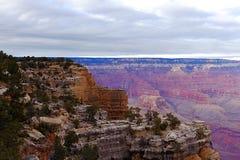 Krajobraz od Uroczystego jaru południowego obręcza, usa - Akcyjny wizerunek Fotografia Stock