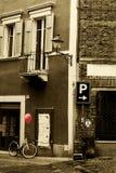 Krajobraz od Włoskiego małomiasteczkowego miasteczka Zdjęcie Stock