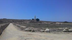 Krajobraz od wyspy Cypr Zdjęcia Royalty Free