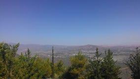 Krajobraz od wyspy Cypr Zdjęcie Royalty Free