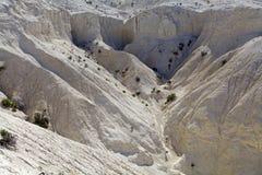 Krajobraz od wzgórza blisko Puerto Madryn, miasto w Chubut prowinci, Patagonia, Argentyna fotografia royalty free