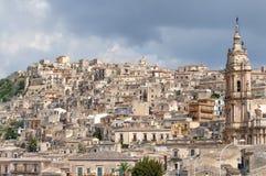 Krajobraz odrobiny, Sicily, Włochy Fotografia Stock