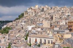 Krajobraz odrobiny, Sicily, Włochy Obraz Stock