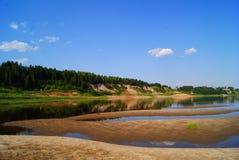 Krajobraz północny Rosja zdjęcia stock