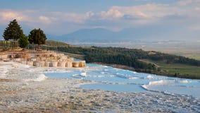 Krajobraz Pamukkale Obrazy Royalty Free