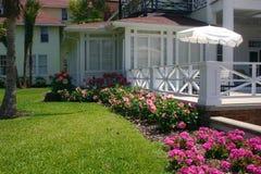 krajobraz patio Obrazy Stock