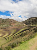 Krajobraz Pisaq, w Świętej dolinie Incas Zdjęcia Royalty Free