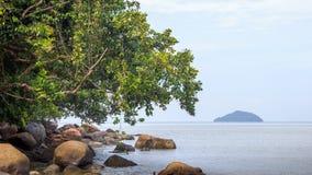 Krajobraz plaże indinasia krajobraz Fotografia Royalty Free