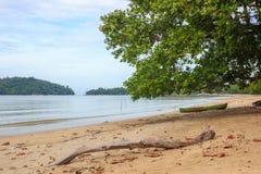 Krajobraz plaże indinasia krajobraz Zdjęcia Stock