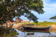 Krajobraz plaże indinasia krajobraz Obraz Stock