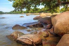 Krajobraz plaże indinasia krajobraz Zdjęcie Stock