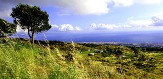 Krajobraz południe Włochy zdjęcie royalty free