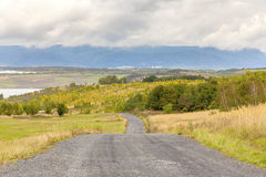 Krajobraz po coalmining, Najwięcej, republika czech Obrazy Stock
