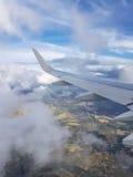Krajobraz powietrzem Fotografia Royalty Free