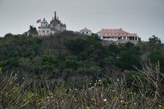 Krajobraz Pranakornkiri pałac, Pranakornkiri pałac jest jego Fotografia Stock