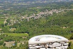 Krajobraz Provence Obraz Royalty Free