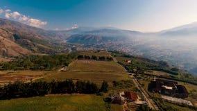 Krajobraz przy Boconà ³, Wenezuela, od Above zdjęcie wideo