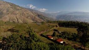 Krajobraz przy Boconà ³, Wenezuela, od Above zbiory wideo