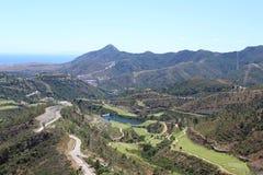 Krajobraz przy Hiszpania Obrazy Royalty Free