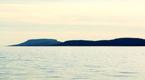 Krajobraz przy Jeziornym Balaton Fotografia Royalty Free