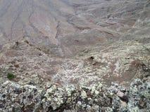 Krajobraz przy Lanzarote Zdjęcie Royalty Free