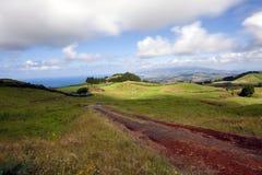 Krajobraz przy Sao Miguel, Azores zdjęcia royalty free