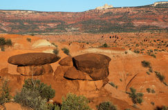 krajobraz pustynny Zdjęcia Royalty Free