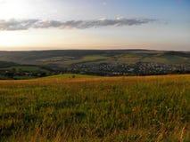 Krajobraz republika czech Fotografia Royalty Free