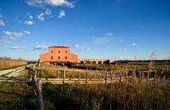 Krajobraz rezerwat przyrody Zdjęcia Royalty Free