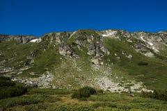 Krajobraz Rila Mountan blisko Siedem Rila jezior, Bułgaria Zdjęcie Royalty Free