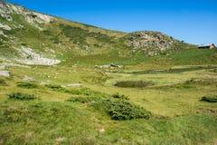 Krajobraz Rila Mountan blisko Siedem Rila jezior, Bułgaria Obrazy Royalty Free
