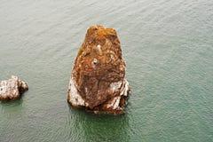 Krajobraz rockowy sterczenie od oceanu blisko San Fransisco Obraz Royalty Free