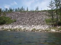 Krajobraz, rzeka obrazy stock
